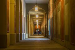 Check the Smartphone (*Capture the Moment*) Tags: lamp munich lampe nightshot courtyard hofgarten abendstimmung 2015 nachtaufnahmen munichnightwalk