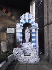 28th January 2016 (themostinept) Tags: blue white london statue londonbridge shrine arch mary icon borough archway virginmary southwark alcove se1 railwayarch omearastreet catholicchurchofthemostpreciousblood