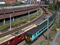 4026, 4001 Fawcett Street sidings (Sunderland) RCTS Tyneside Centenarian tour, 156471 4-7-04 (6089Gardener) Tags: sunderland metrocar 4001 class156 4026 156471 fawcettstreetsidings