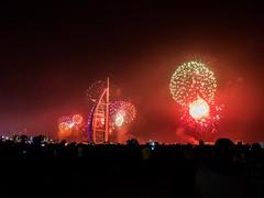 P1040930ps (srodgers87) Tags: night dubai fireworks uae firework burjalarab newyears burj 2016 newyear2016 dubai2016
