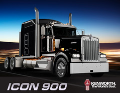 ICON 900 (jr-transport) Tags: icon special limited edition kenworth w900 w900l icon900