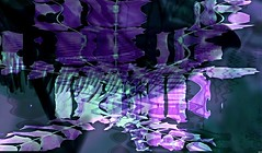 Purple Sea (Sebmanstar) Tags: original france color art night digital french photo europa europe image pentax creative manipulation explore creation research imagine imagination logiciel couleur transformed creatif