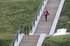 Steps to fitness (BruceK) Tags: toronto beach exercise steps fitness stairclimbing rcharrisplant