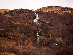 The Fall (marcritchie) Tags: trees winter sky mountains tree nature water rock outdoors scotland rocks heather country loch lochlomond hillwalking rowardennan visitscotland
