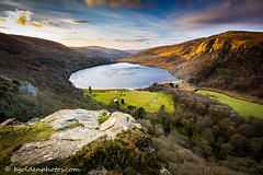 Luggala and Lough Tay This Morning (bob golden) Tags: morning ireland winter nature landscape outdoors dawn lough tay wicklow luggala
