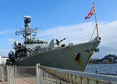 HMS Iron Duke F234 (4) @ RVD 30-01-16 (AJBC_1) Tags: uk england london boat ship unitedkingdom military navy vessel frigate nato warship royalvictoriadock eastlondon rn royalnavy nikond3200 newham britisharmedforces royaldocks excelexhibitioncentre militaryvessel navalvessel type23frigate londonboroughofnewham f234 snmg1 hmsironduke standingnatomaritimegroupone londonexcelcentre ukmilitary standingnatomaritimegroup1 dlrblog londonsroyaldocks ajc shipsinpictures