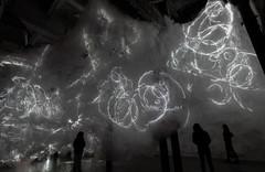 Roil, Christine Sciulli installation at Smack Mellon (x_i_n_e_2_3) Tags: light newyork art artwork exhibition caves installation etienne broooklyn threedimensional roil nooks smackmellon robertgair frossard christinesciulli