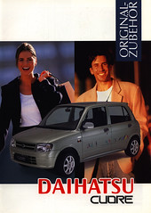 Daihatsu Cuore Original Zubehr; 1999 (World Travel Library) Tags: world auto travel original cars car japan by ads japanese drive photo model automobile ride image photos library go wheels transport models picture automotive center 1999 literature photograph papers vehicle motor accessories makes collectible collectors sales brochures catalogue  cuore automobiles documents fahrzeug daihatsu frontcover motoring wagen automobil  zubehr prospekt dokument katalog worldcars worldtravellib
