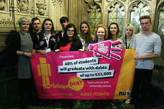 Supporting the National Union of Students #CutTheCosts campaign