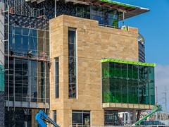 #NewCentralLibrary - Exterior (East) - January 2016 (austinpubliclibrary) Tags: urban architecture austin downtown texas library libraries publiclibrary atx newcentrallibrary texaslibraries texaslibrary