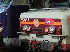 Detail from a BB 15000 Class electric locomotive, Gare St. Lazare, Paris (Steve Hobson) Tags: paris station gare class bb sncf stlazare 15000
