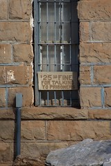 Don't Talk To The Prisoners... (davidlayne1284) Tags: building stone us nikon texas unitedstates masonry historic prison jail westtexas dickens stonebuilding tx114 us82 dickenscounty d7200 d7200nikon