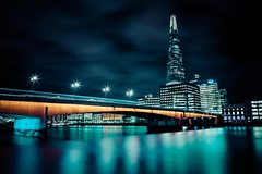 """""""Lost in this mood"""" (Samy.Jourdan) Tags: life street city uk bridge light england color building london tower thames canon river lens landscape colorful long exposure mood cityscape angle tripod wide sigma tokina filter lee nd scape shard manfrotto samy jourdan towedr"""