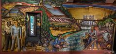 California Industrial Scenes (_ Ivor_) Tags: sanfrancisco art mural tokina coittower fresco califonia pwap d7200 nikond7200 lightroom6 tokina1120 tokina110200mmf28