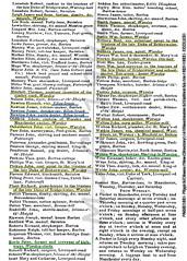 1821-22 Worsley, Barton, Boothstown, Ellenbrook, Little Houghton, Patricroft, Swinton, Walkden & Winton (p302) (Landstrider1691) Tags: history manchester corn baker 19thcentury 1800s dyer historic miller butcher shuttle barton plumber leigh trade bowlinggreen grocer worsley roegreen shoemaker directory earthenware winton bridgewater gamekeeper nankeen surgeon 1822 ellenbrook pawnbroker monton 1821 stonemason bootmaker boothstown fustian walkden irlamsothheight dukeofbridgewater westwoods littlehoughton victualler shirting dimity patricroft tradedirectory montongreen rowgreen nurseryman peelgreen cornmiller schoolslate tradesdirectory earthenwaredealer tollbarkeeper photosofoldtradedirectoriesofswinton photosofoldtradedirectoriesofwinton fustianmanufacturer shuttlemaker photosofoldtradedirectoriesofworsley photosofoldtradedirectoriesofwalkden photosofoldtradedirectoriesofpatricroft 19thcenturyoccupations dimitymanufacturer pigdealer leadpencilmaker oldtradedirectories oldtradedirectory photosofoldtradedirectories historictradedirectories photosofoldtradedirectoriesofellenbrook historictradedirectory schoolslatemanufacturer 19thcenturytradedirectories 19thcenturytradedirectory