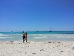 Es trenc sea view (nudistblr) Tags: sea beach girl nude spain sand waves outdoor butt playa nudist es mallorca fkk majorca platja nudismo estrenc desnuda naturista nudista trenc