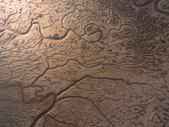 Mud Flats (danielpivnick) Tags: mud unique patterns tide low aerial bayarea lowtide mudflats aerialphotograpy