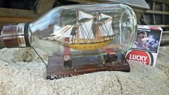 P1060714 R (Hafid Wanala) Tags: art bottle sand ship seni pasir botol miniatur kapal pulauberhala berhalaisland