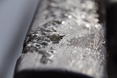 Gesmolten (Ilona67) Tags: winter water dof sneeuw donker kou gesmolten dooi