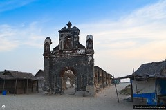 Old Church (jeevanan) Tags: ocean road old city blue sunset sea india church way lost nikon indian solo 1855mm 70300mm tamron tamil rameswaram nadu 70300 dhanushkodi d7000