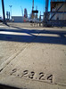 A Date in the Concrete (49er Badger) Tags: concrete date slab 1924 february23 panamericanpetroleum