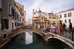 Venezia. (PeeterTomson) Tags: travel carnival venice vacation italy history girl angle good wide canals explore fujifilm times 12mm venezia xa1 rokinon