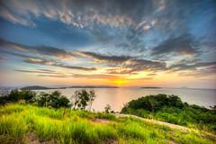 Emerald (Soiparadize) Tags: ocean travel trees sun sunrise thailand island sony phuket viewpoint travelphotography f13 travelphotos amazingthailand a7r 1018mm bangrong thailandphotography thailandonly sonya7r ilce7r