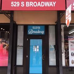 529 S. Broadway Awning