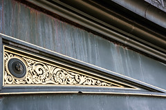 Battersea Bridge - gilding and rust