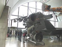 Hawker Siddeley Harrier GR3 XZ997 at RAF Museum, Hendon 05.03.16 (TrevBruford55015) Tags: cold london museum plane 1 jump war force no aircraft aviation air flight jet royal hermes falklands warbird raf hawker milestones warplane harrier vtol squadron hms hendon siddeley vstol gr3 xz997