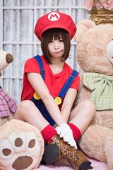 P75_012 (ms09Dom) Tags: cosplay コスプレ マリオ 五木あきら itsukiakira studioazure