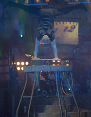 Sergey Roous - Balance handstand (MattDeane) Tags: circus preston sergey carnevil horrors circusofhorrors roous chartertheatre
