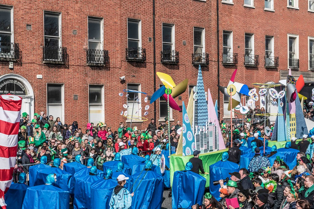 DIT - THE FUTURE IS PRESENT [ST.PATRICK'S DAY PARADE 2016]-112273