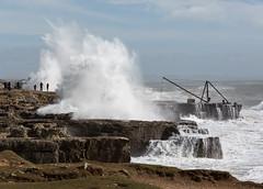 88/366 Storm Katie - 366 Project 2 - 2016 (dorsetpeach) Tags: england storm weather portland wave spray dorset 365 portlandbill 2016 366 roughseas aphotoadayforayear 366project second365project stormkatie