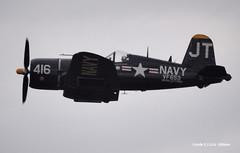 160313_30_Tico_F4U (AgentADQ) Tags: show plane airplane fighter florida aviation air navy airshow corsair titusville warbird tico f4u vought
