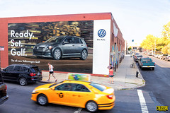 Volkswagen (Always Hand Paint) Tags: auto nyc vw brooklyn advertising mural outdoor williamsburg ooh handpaint colossal streelevel colossalmedia muraladvertising b145 skyhighmurals alwayshandpaint