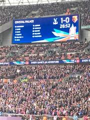 Wembley FA cup semi final (kirstinlewis927) Tags: uk london cup crystal stadium palace fa wembley 2016 cpfc