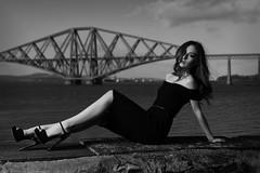 Chloe (maxbryan92) Tags: bridge portrait woman face female scotland globe model nikon ranger south rail chloe forth quadra firth queensferry southqueensferry gbr d4 gaffney elinchrom