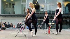 Open Air (Burnett NL) Tags: street photography dance open candid air performance streetphotography fujifilm dans x20 optreden 2016 heerlen jaarmarkt