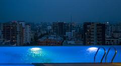 Gulshan, Dhaka (ASaber91) Tags: city sky pool night hotel evening seasons dhaka six bangladesh gulshan