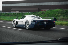Driving Distraction (Ste Bozzy) Tags: italy beauty car italian highway italia exotic spotted rare supercar rolling mc12 maserati spotting chasing 2016 maseratimc12 maseraticorse italianbeauty carscoffee carsandcoffee 19bozzy92 carsandcoffeeitaly carsandcoffee2016