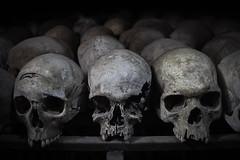 Mass Grave at the Rwandan Genocide Memorial in Nyamata (samcboone) Tags: africa skulls memorial rwanda genocide victims massgrave