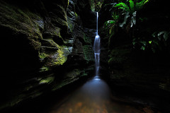 Secret (fpecheur) Tags: longexposure travel nature landscape waterfall secret australia roadtrip silence slowshutter tasmania hobart cascade select naturephotography landscapephotography
