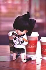 sugar - her first love  (oltasia) Tags: doll sweet donald sugar mc carol kawaii pullip coffe satoko