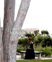 Deserted Woman (wolfkeshart) Tags: ca usa ranchopalosverdes wolfkesh desertedwoman peoplestockphoto
