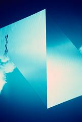 Archives split 01 (saturedcamtar) Tags: blue france analog 35mm french outside lca lomography cross alt tudor bleu exposition split process multi argentique traitement exterieur surimpression croisé splitzer