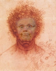 With apologies to Mr. da Vinci (SolanoSnapper) Tags: granny leonardodavinci werehere hereios