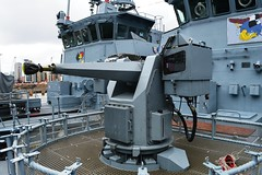 FGS Pegnitz M1090 M1098 (15) @ WID 16-04-16 (AJBC_1) Tags: uk england london boat ship unitedkingdom military navy vessel docklands canarywharf nato warship minesweeper eastlondon mcv nikond3200 27mm germannavy navalvessel westindiadock deutschemarine minehunter m1098 minecountermeasuresvessel m1090 3minensuchgeschwader mlg27 ensdorfclassminesweeper dlrblog ajc bundeswehrnavy lightnavalgunsystem rheinmetalldetec fgssiegburg fgspegnitz 3rdgermanminesweepingsquadron
