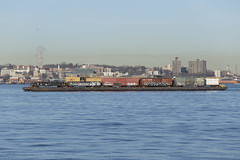 Floating Across the Hudson (The Industrial Railfan) Tags: railroad railway barge carfloat shortline crossharbor nynjrail elchlok henrydell theindustrialrailfan