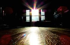 afternoon low sun (1) (marcus gordianus) Tags: light window sunshine sunrise creativity east kitchenwindow afternoonsun lowsun morningsun